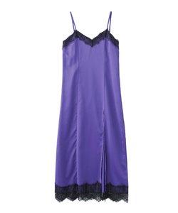 X-GIRL X YURINO SLIT CAMISOLE DRESS