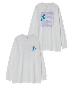 HONEYCOMB L/S BIG TEE DRESS