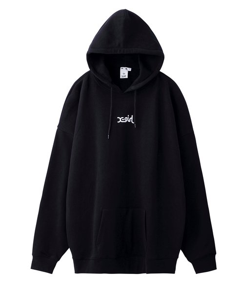 EMBROIDERED MILLS LOGO SWEAT HOODIE