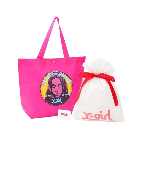 X-GIRL 25TH GIFT BAG SET FACE-P M