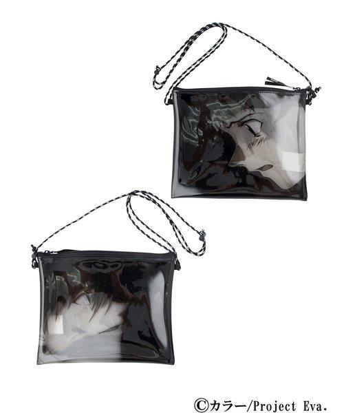X-girl × EVANGELION PVC SACOCHE BAG