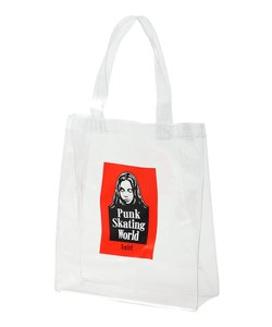 FACE CLEAR TOTE BAG