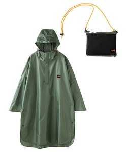 X-girl × HUS OUTDOOR PONCHO