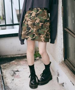 MILITARY_CARGO_MINI_SKIRT X-girl