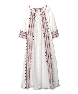 HEART EMBROIDERED DRESS