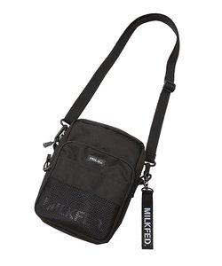 MESH POCKET SHOULDER BAG