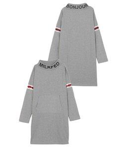 LINE LOGO HIGH NECK DRESS