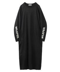 SLEEVE LOGO DRESS