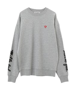 S SLEEVE ICING LOGO BIG SWEAT