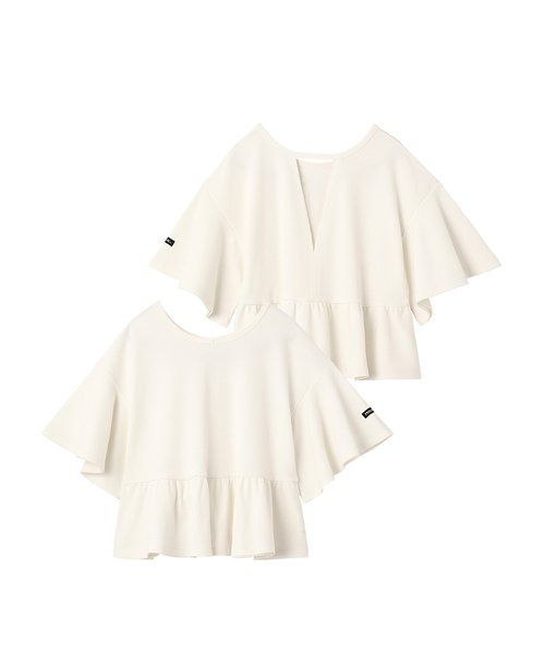 WAFFLE FLARE TOP