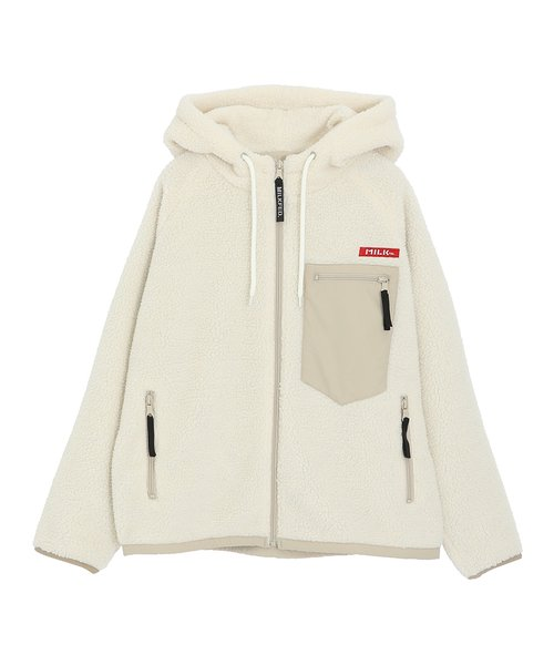 BOA SHORT  HOODED  JACKET