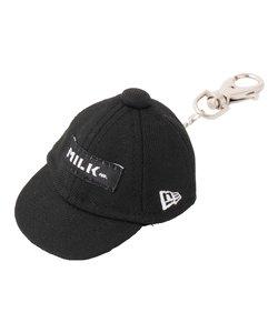 MILKFED. X NEW ERA CAP KEYCHAIN
