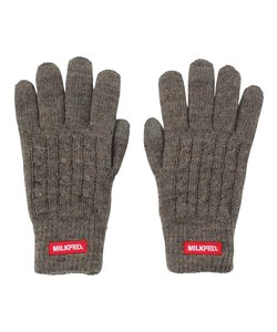 MILKFED CABLE KNIT GLOVE