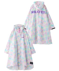 MILKFED. x KIU RAIN SLEEVE PONCHO