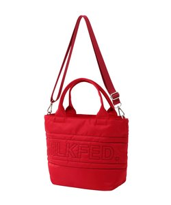 QUILTED SHOULDER TOTE