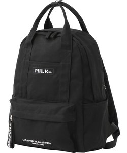 EMBROIDERED BAR CANVAS BACKPACK