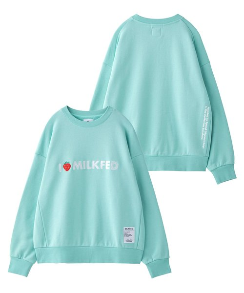 STRAWBERRY_EMBROIDERY_LOGO_SWEAT_TOP