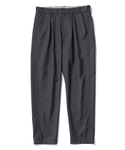 BOX TUCK TROUSERS