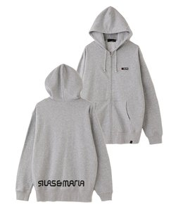 【WEB限定】BACK SILAS&MARIA LOGO ZIP UP HOODIE