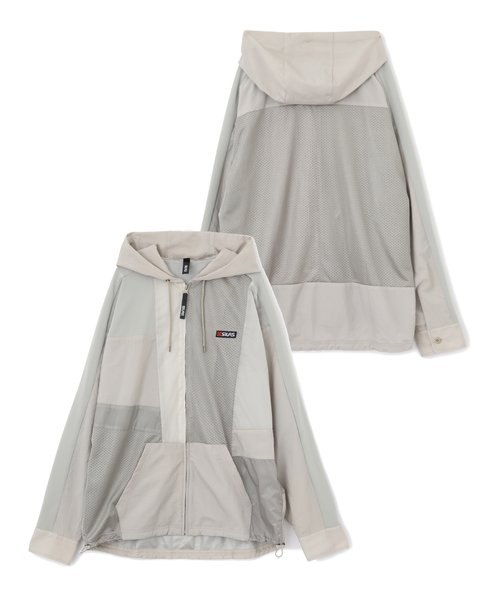 FRONT SWITCHING MESH PARKA