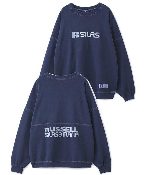 RUSSELL PIGMENT DYE SWEAT CREW