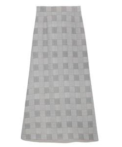バリエーションプリントロングスカート