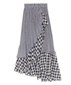 イレヘムフリルギャザースカート