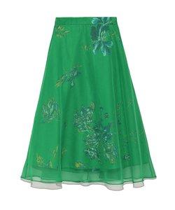 シアーレイヤードスカート