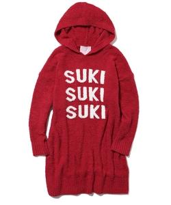 【Suki Waterhouse】ロゴジャガードビッグパーカ