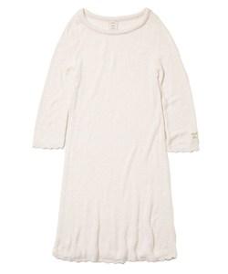 'スムーズィー'スカラップドレス
