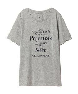 レーヨンロゴTシャツ