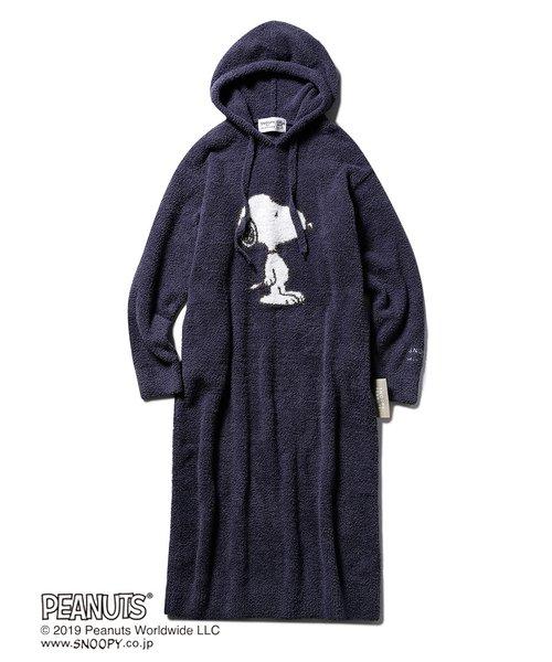 【PEANUTS】'ベビモコ'ジャガードドレス