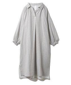 温泉ガーゼシャツドレス