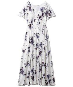 リリーモチーフドレス