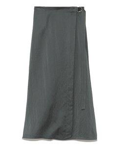 ナローサテンスカート