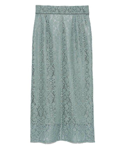 オーナメントレースタイトスカート