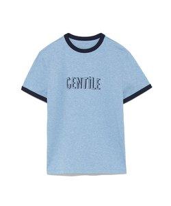 バイカラーパイピングロゴTシャツ