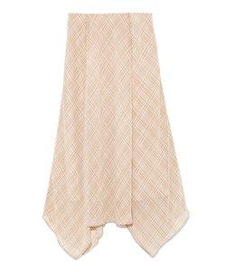 シアーヘムラインスカート