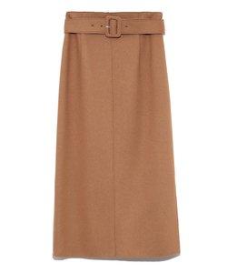 ベルト付ボンディングセットアップタイトスカート