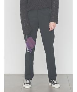 【emmi atelier】タックセンタープレスパンツ