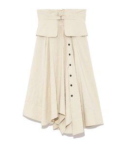 【emmi atelier】ベルトデザインハイウエストスカート