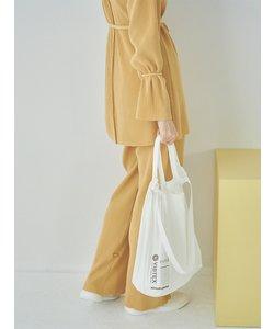 【emmi atelier】ストレッチプリーツパンツ