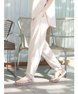 【emmi atelier】ビンテージ加工ジョガーパンツ