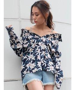 2WAYストラップシャツ