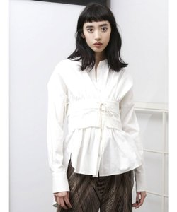 コルセットスキッパーシャツ