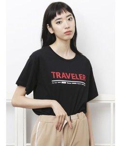 トラベラープリントTシャツ