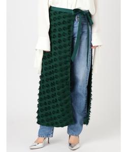 ジャカードラップスカート