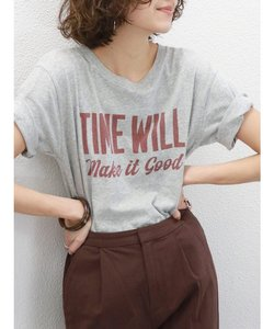 TIME WILLプリントTee