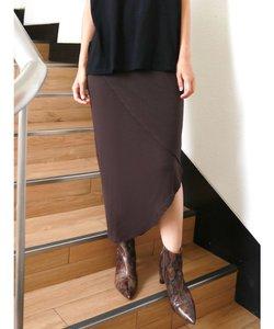 アシメデザインカットスカート