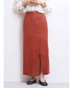 スリットフィットマキシスカート